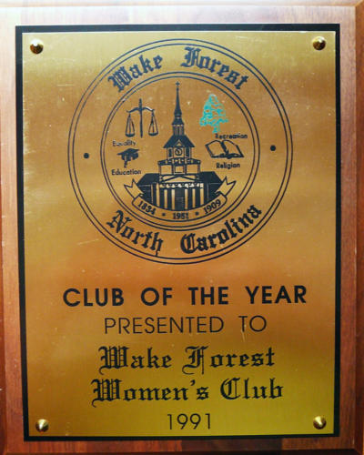 Wake Forest Club of the Year, 1991