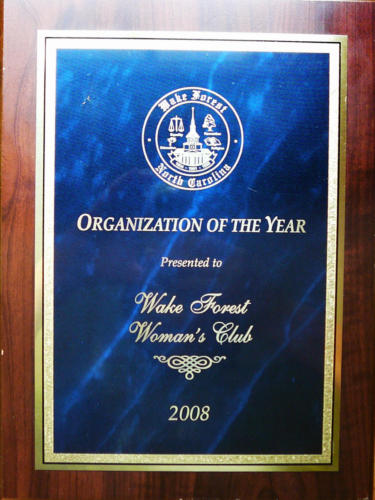 Wake Forest Organization of the Year, 2008